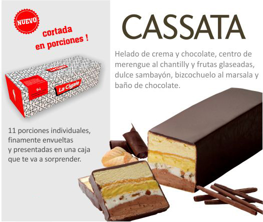 Cassata Mayor (11 porciones)